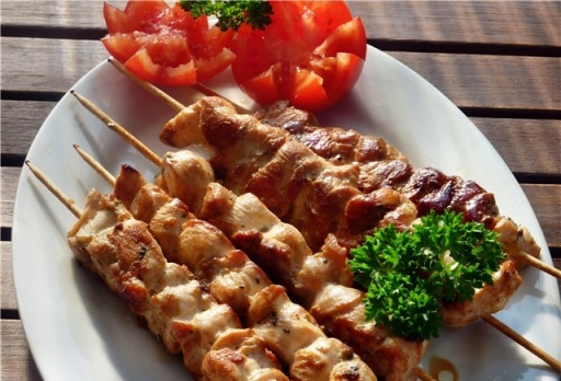 Chicken skewers-on-skewers-in-the-oven