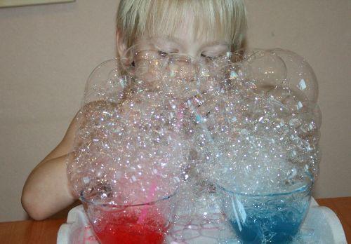 пена пузыри