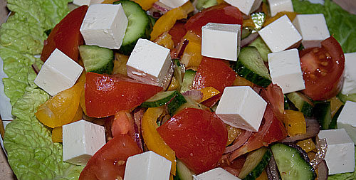 греческий салат 1