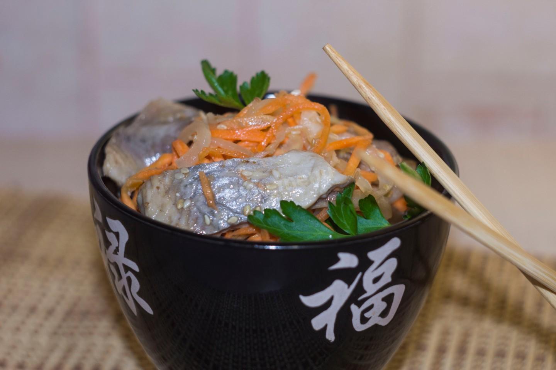 Селедка хе : 5 вкусных рецептов хе из сельди по-корейски 8