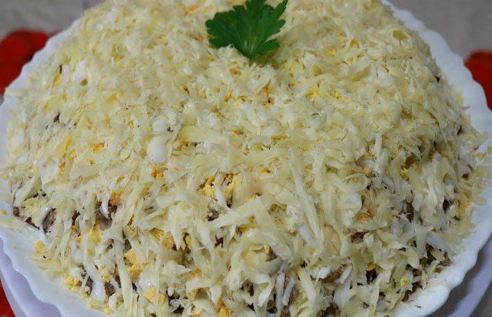Салат Мужской каприз. Топ 7 рецептов салатов с говядиной этап 17