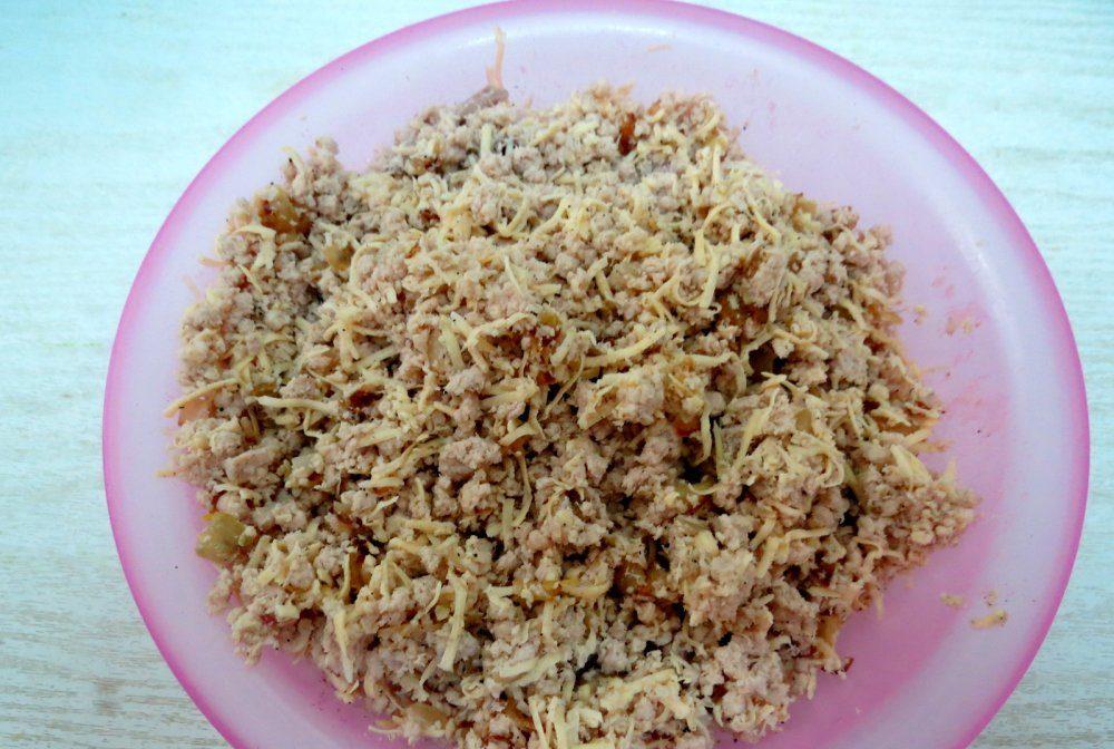 Блинчики с мясом — 9 самых вкусных рецептов фаршированных блинов этап 64