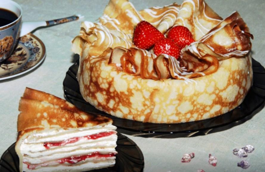 Как сделать блины из тортов