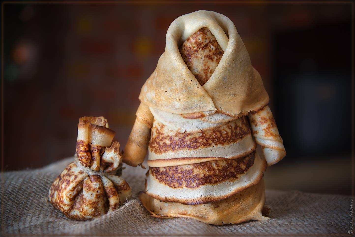 Блинная кукла рецепт пошагово