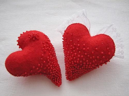 Подарок из ткани своими руками сердце 47
