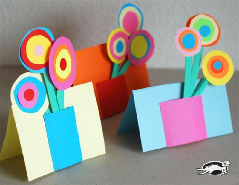 Как делают открытки для мамы 53