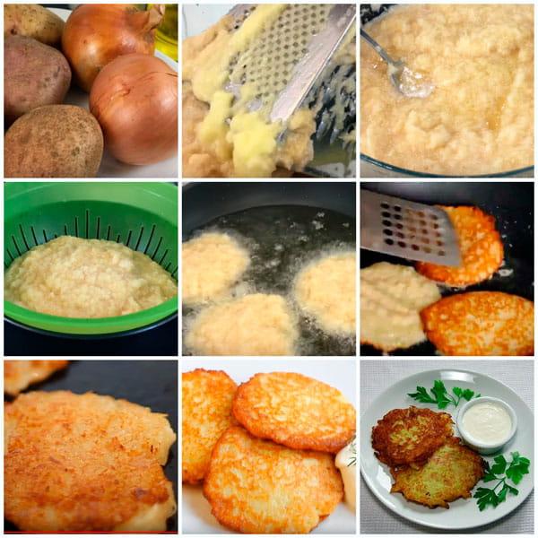 Как сделать драники из картошки быстро и вкусно