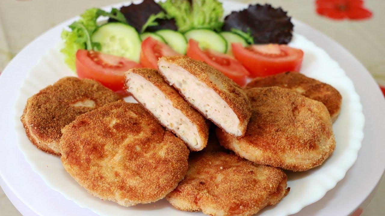 Котлеты из филе куриное рецепты как вкусно приготовить
