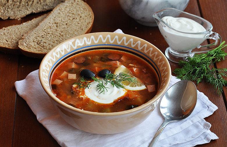 Солянка сборная мясная классический рецепт с фото. 5 лучших способов приготовления в домашних условиях