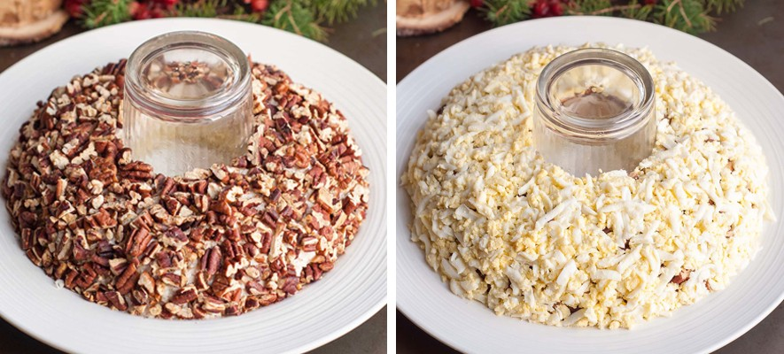 Салат Гранатовый браслет — 6 самых вкусных рецептов с курицей этап 5