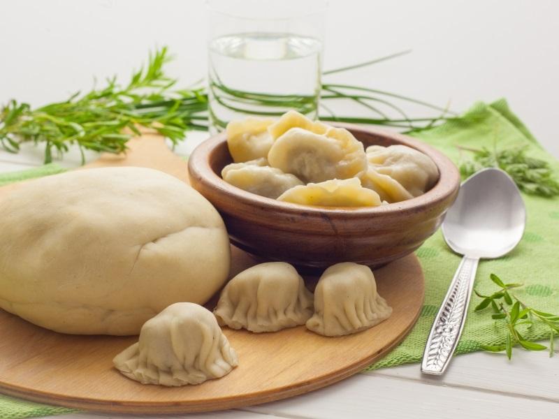 Классические манты - рецепт приготовления с сочным фаршем