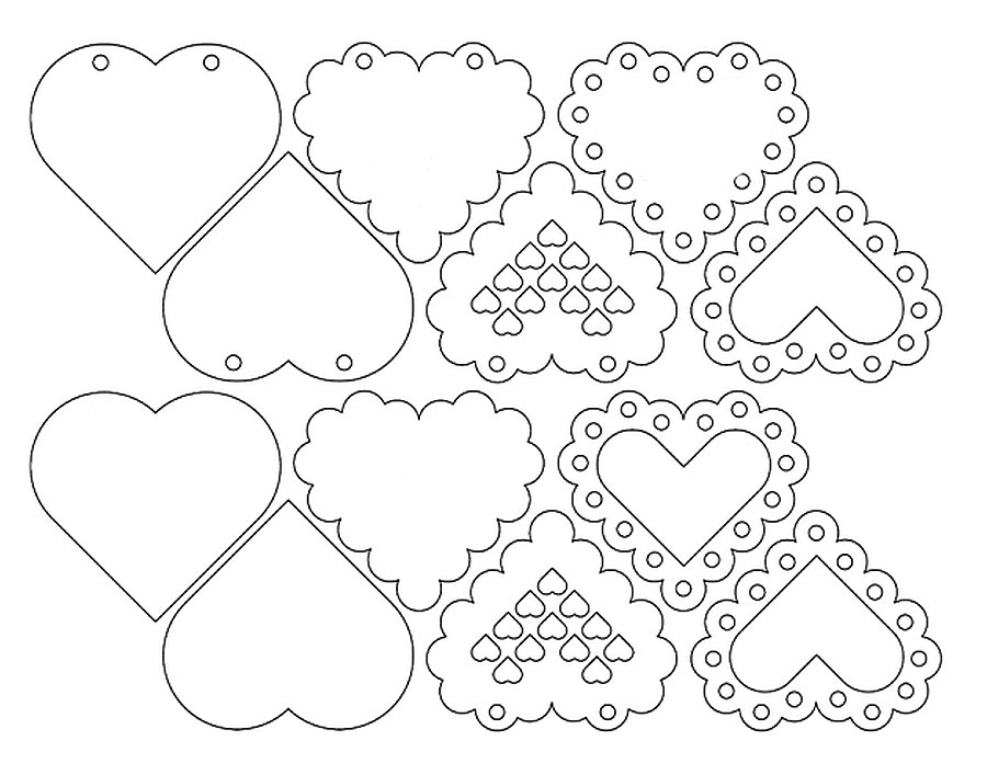 Валентинки на 14 февраля. Красивые и оригинальные сердечки ко Дню Всех Влюбленных своими руками этап 21