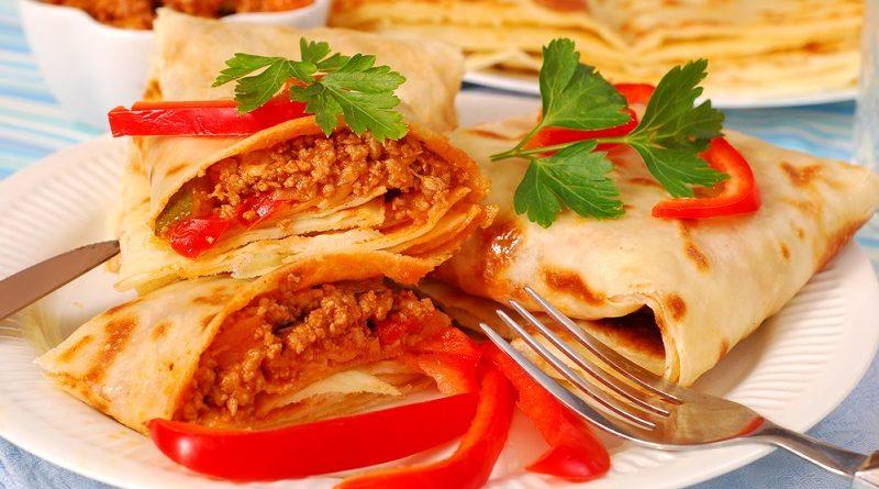 Блинчики с мясом — 9 самых вкусных рецептов фаршированных блинов