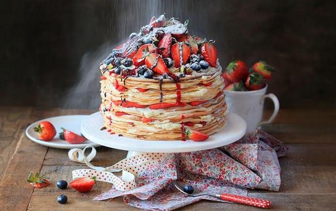 Блинный торт — 8 рецептов приготовления торта в домашних условиях этап 46