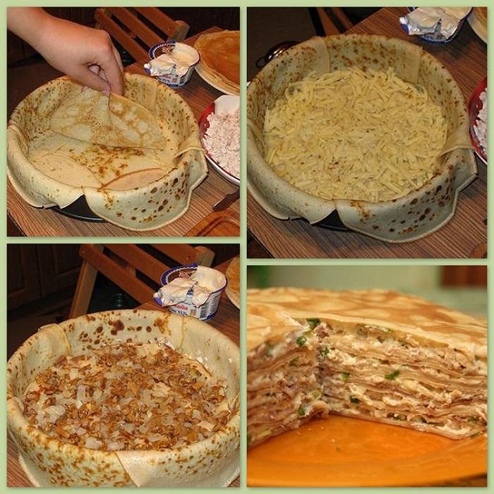 Блинный торт — 8 рецептов приготовления торта в домашних условиях этап 40