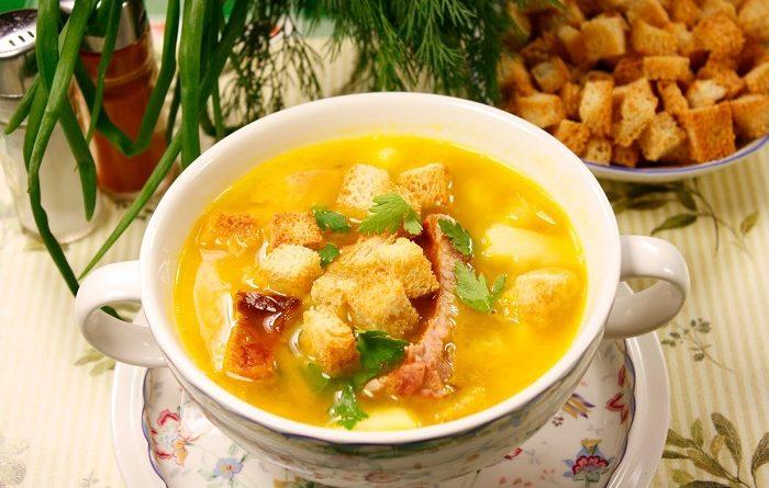 Суп гороховый — 5 рецептов горохового супа с копченостями