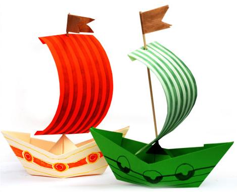 korablik-iz-bumagi-4 Сделать лодку из бумаги пошаговая инструкция. Как сделать кораблик из бумаги: пошаговая инструкция с объяснениями, схемами и иллюстрациями
