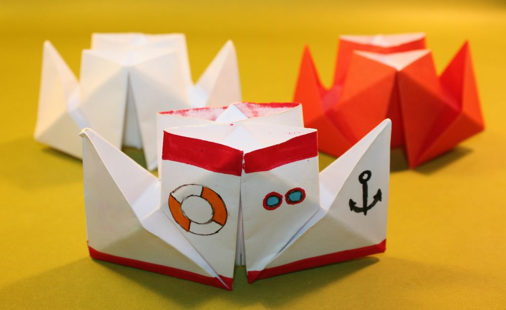 korablik-iz-bumagi-5 Сделать лодку из бумаги пошаговая инструкция. Как сделать кораблик из бумаги: пошаговая инструкция с объяснениями, схемами и иллюстрациями