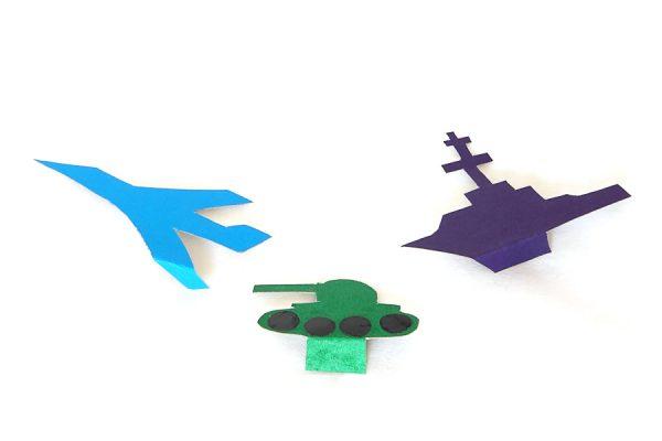 Поделки на 23 февраля своими руками. Идеи детских поделок на День Защитника Отечества этап 14
