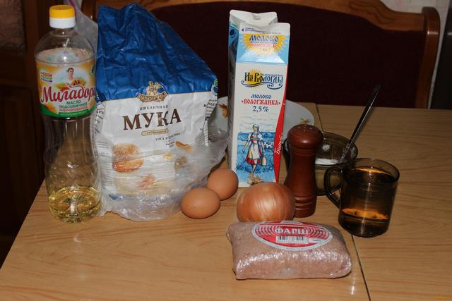Как сделать мясную начинку для блинов сочной