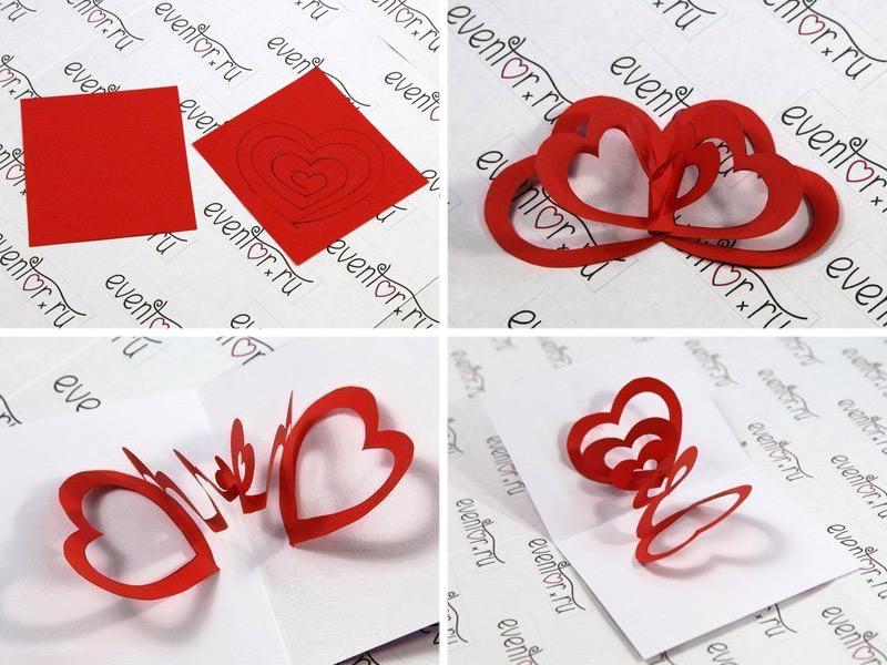 Валентинки на 14 февраля. Красивые и оригинальные сердечки ко Дню Всех Влюбленных своими руками этап 16