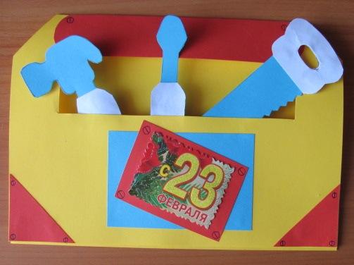 Поделки на 23 февраля своими руками. Идеи детских поделок на День Защитника Отечества этап 40