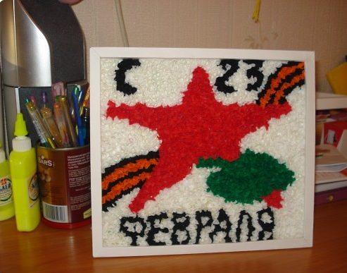 Поделки на 23 февраля своими руками. Идеи детских поделок на День Защитника Отечества этап 26