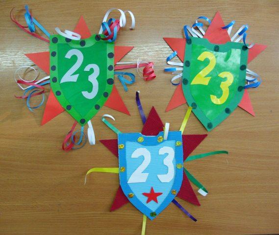 Поделки на 23 февраля своими руками. Идеи детских поделок на День Защитника Отечества этап 27