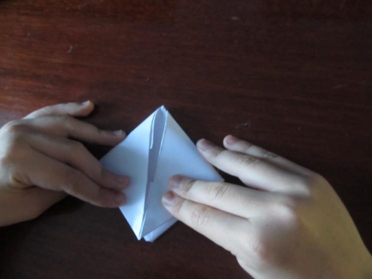 Оригами кораблик пошаговая инструкция