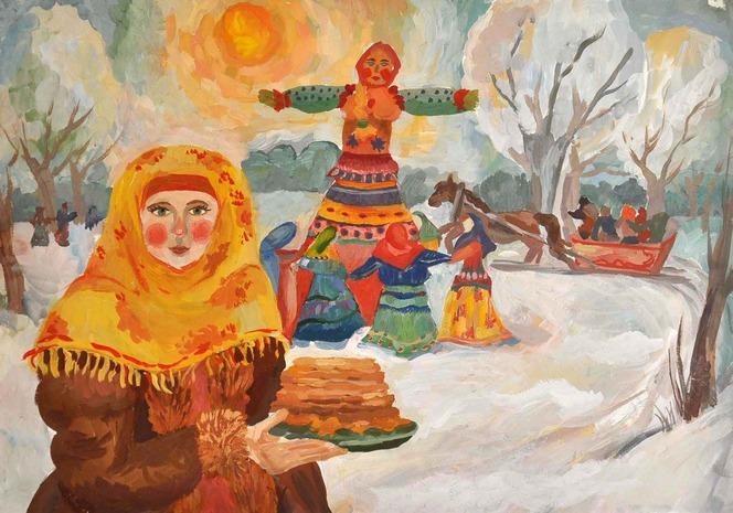 Поделки на праздник Масленица своими руками. Подборка для детей детского сада и школы этап 29