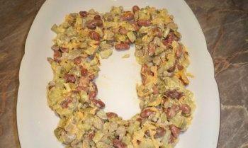 Салаты на 23 февраля: простые и недорогие рецепты праздничных салатиков этап 43