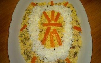 Салаты на 23 февраля: простые и недорогие рецепты праздничных салатиков этап 46
