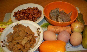 Салаты на 23 февраля: простые и недорогие рецепты праздничных салатиков этап 40
