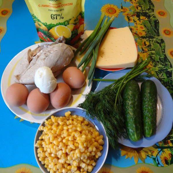 Салаты на 23 февраля: простые и недорогие рецепты праздничных салатиков этап 3