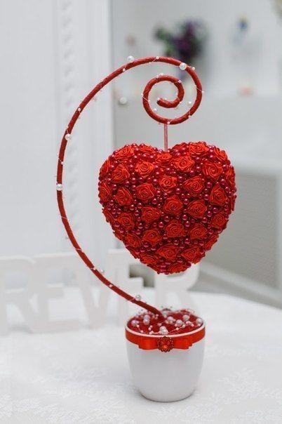 Валентинки на 14 февраля. Красивые и оригинальные сердечки ко Дню Всех Влюбленных своими руками этап 34