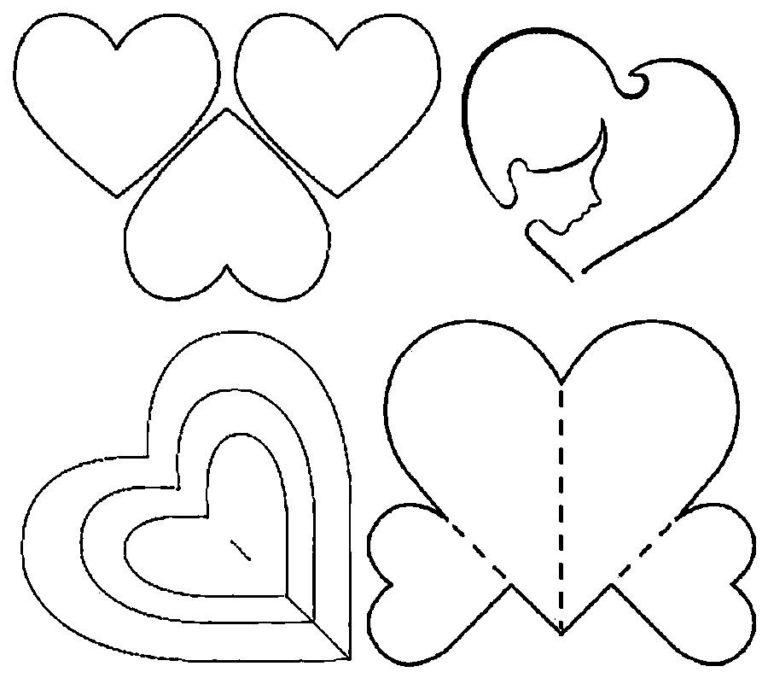 Открытка для мамы на день рождения своими руками с шаблонами, летием девочке открытки