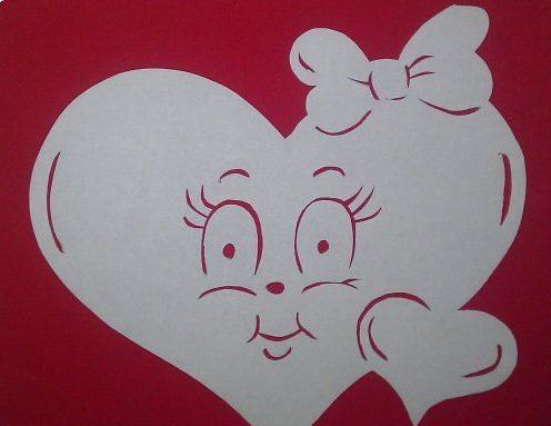 Валентинки на 14 февраля. Красивые и оригинальные сердечки ко Дню Всех Влюбленных своими руками этап 43