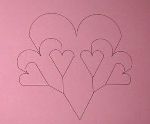 Валентинки на 14 февраля. Красивые и оригинальные сердечки ко Дню Всех Влюбленных своими руками этап 44