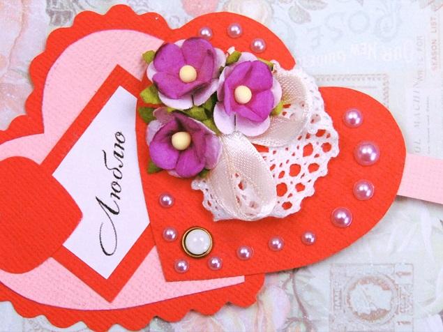 Валентинки на 14 февраля. Красивые и оригинальные сердечки ко Дню Всех Влюбленных своими руками этап 2