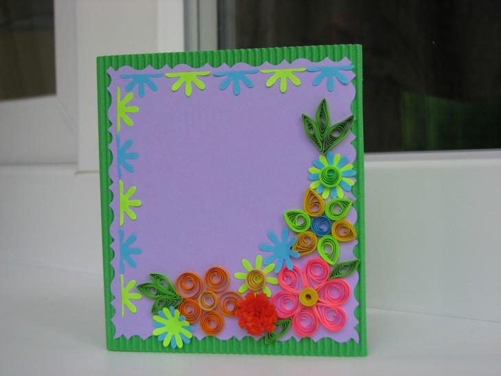 этот как сделать открытку из бумаги и картона маме на день наличники окна