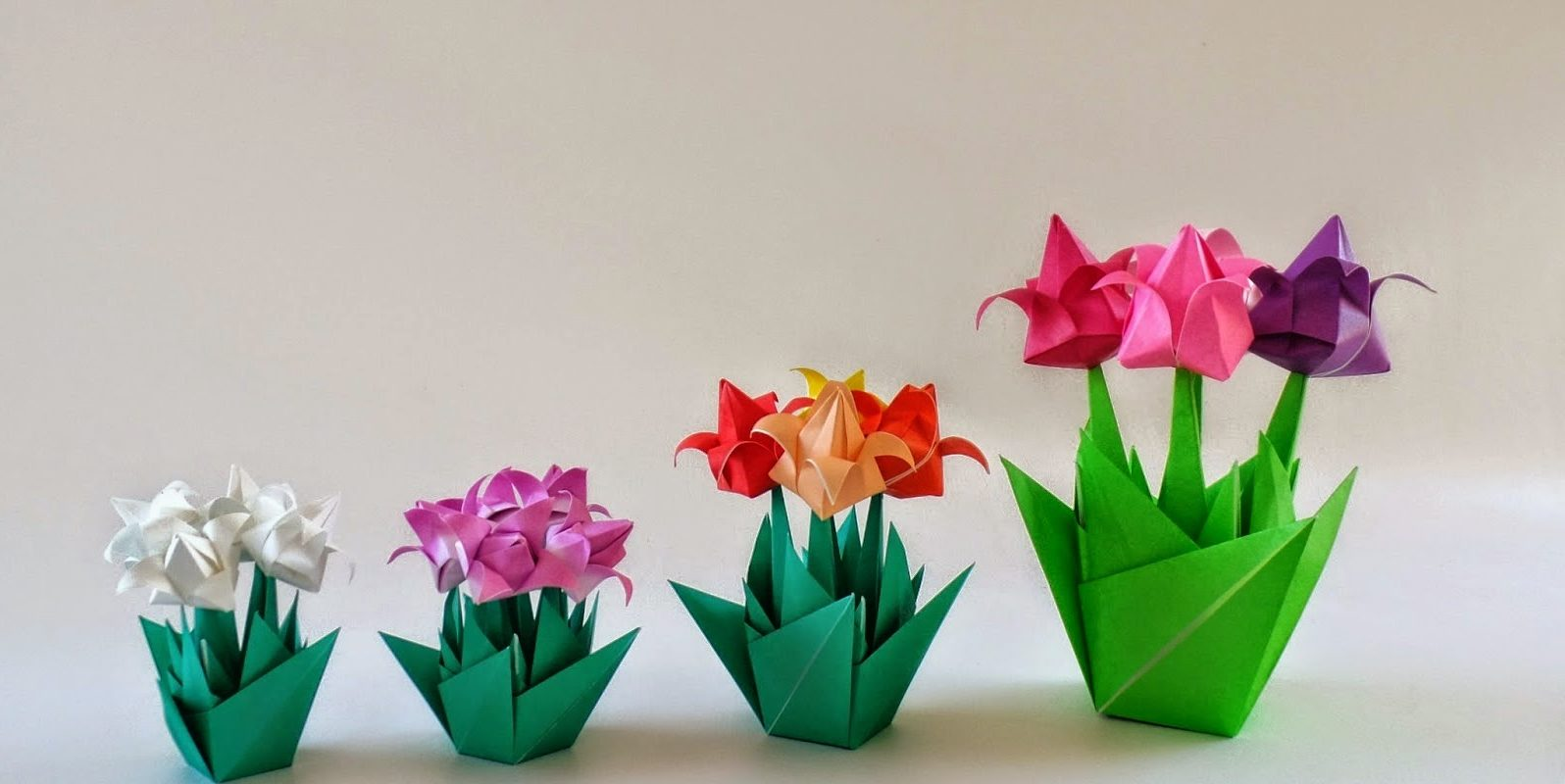 как сделать тюльпан для открытки