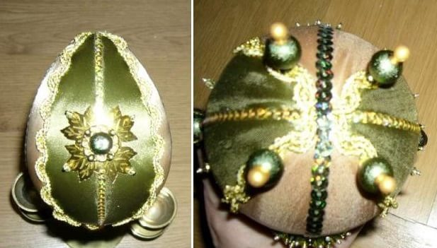 Пасхальное яйцо. Идеи поделок в форме яиц в разных техниках исполнения этап 33