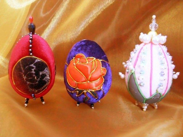 Пасхальное яйцо. Идеи поделок в форме яиц в разных техниках исполнения этап 34