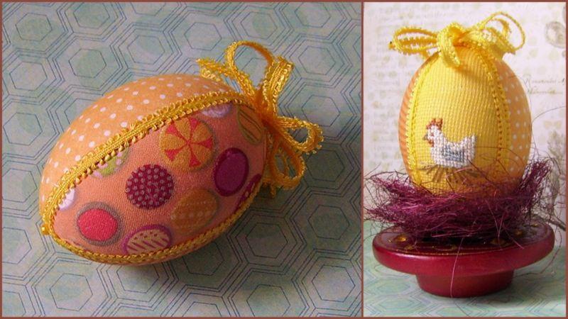 Пасхальное яйцо. Идеи поделок в форме яиц в разных техниках исполнения этап 35