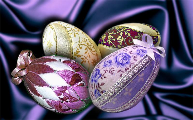 Пасхальное яйцо. Идеи поделок в форме яиц в разных техниках исполнения этап 36