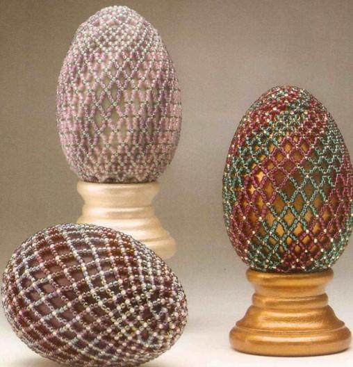 Пасхальное яйцо. Идеи поделок в форме яиц в разных техниках исполнения этап 20