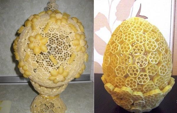 Пасхальное яйцо. Идеи поделок в форме яиц в разных техниках исполнения этап 58