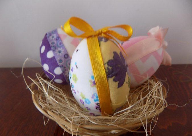 Пасхальное яйцо. Идеи поделок в форме яиц в разных техниках исполнения этап 49
