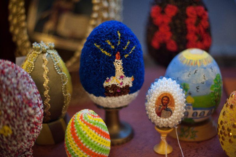 Пасхальное яйцо. Идеи поделок в форме яиц в разных техниках исполнения этап 50
