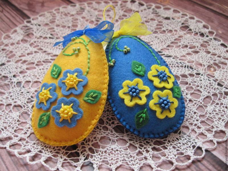 Пасхальное яйцо. Идеи поделок в форме яиц в разных техниках исполнения этап 57